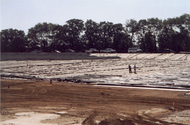 Construction of liner pad 1