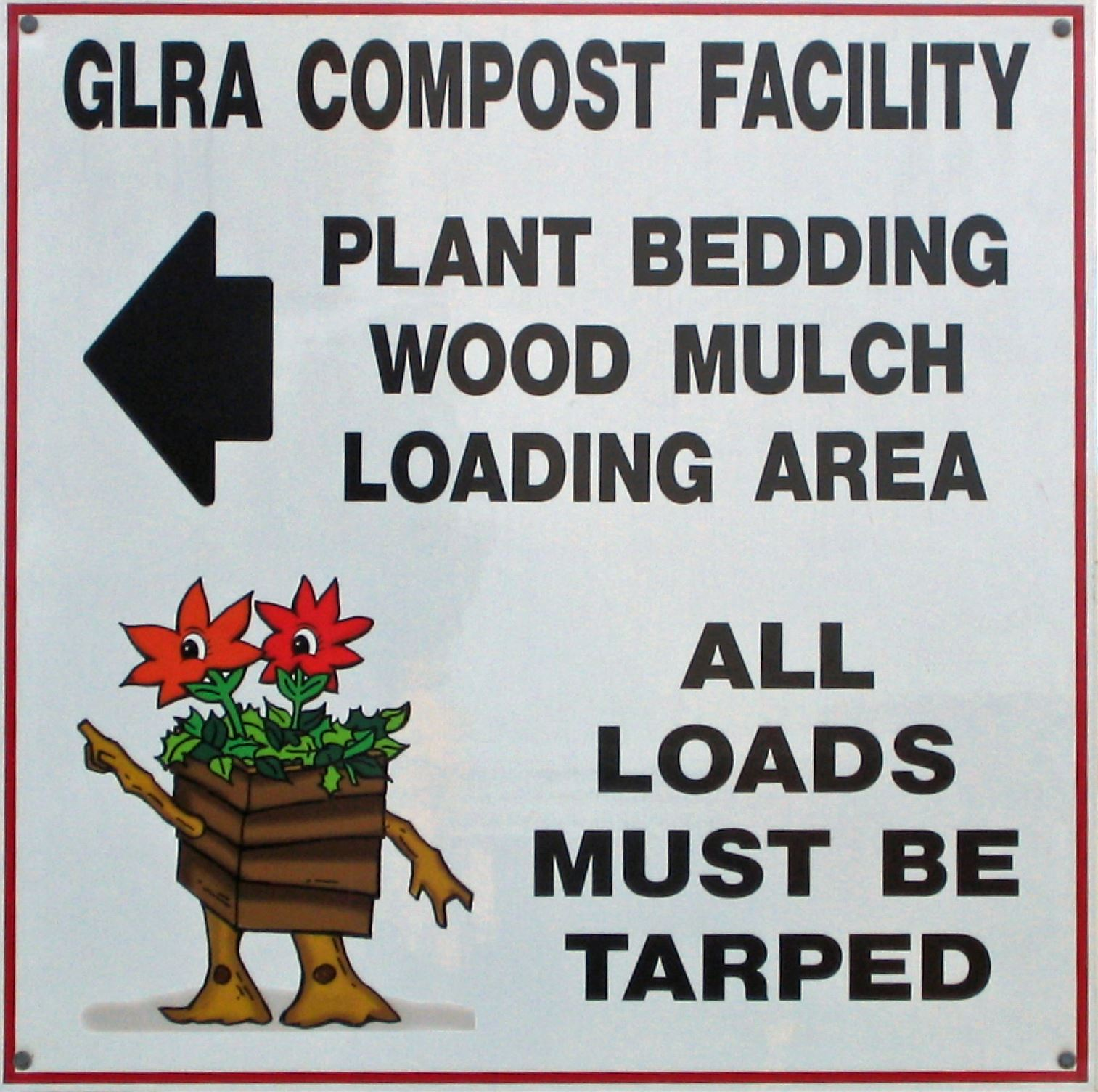 mulch sign